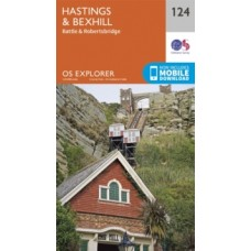 Hastings and Bexhill : 124 - Ordnance Survey