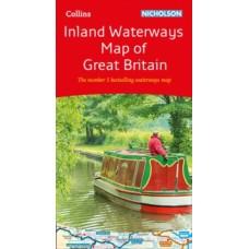 Inland Waterways Map of Great Britain