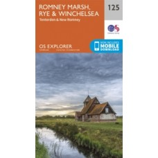 Romney Marsh, Rye and Winchelsea : 125 - Ordnance Survey