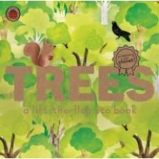 Trees: A lift-the-flap eco book - Carmen Saldana